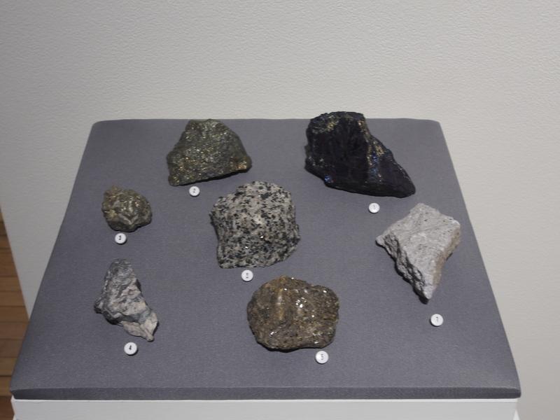 Mineral samples<br />
