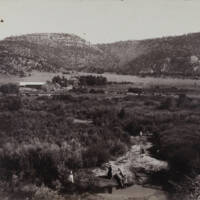 M.M. Chase's Cattle Ranch, Ponil Canyon, New Mexico